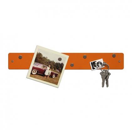 Magnetic strip 5 x 35,5 cm orange