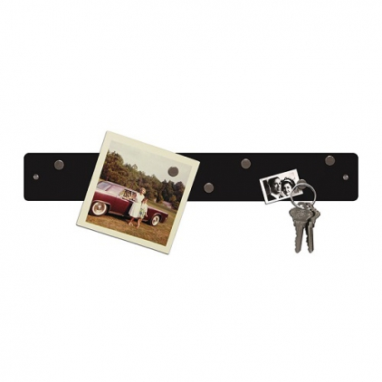 Magnetic strip 5 x 35,5 cm noir