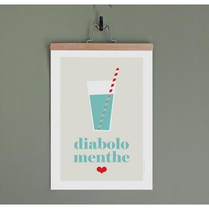 Affiche Diabolo Menthe