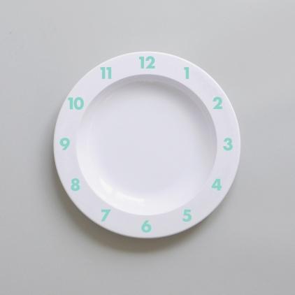 Assiette Time menthe
